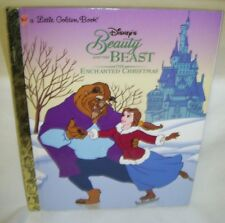 A Little Golden Book Beauty and the Beast The Enchanted Christmas 1997