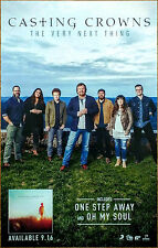 CASTING CROWNS The Very Next Thing 2016 Ltd Ed New RARE Poster Display Christian