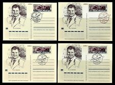 Russia. Gagarin. Space. Postal #1 Stationery Cards. Original stamp(BI#29/201111)