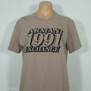 ARMANI EXCHANGE 1991 Men's Graphic T-Shirt size S