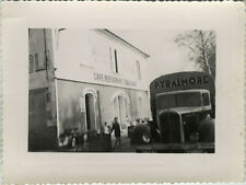 PHOTO ANCIENNE - VINTAGE SNAPSHOT - CAMION CITROËN CAFÉ RESTAURANT TOULOUSE