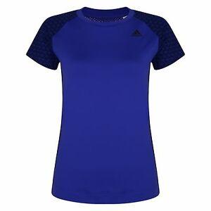 New Adidas GS Easy Running Top T-Shirt - Purple - Ladies Womens Gym Fitness