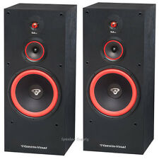 "Pair Set Cerwin Vega SL-12 12"" 3 Way Floor Standing Tower Speaker 300 Watt SL12"