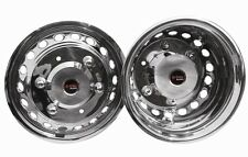 """16"""" Deep Dish Iveco Daily 205mm PCD wheel trims liners hub caps covers 2000 on"""