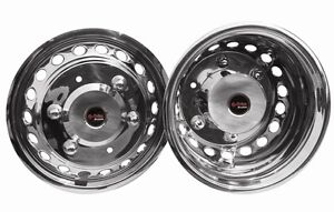"16"" Deep Dish Mercedes Sprinter  wheel trims liners hub caps covers 2006 0n"