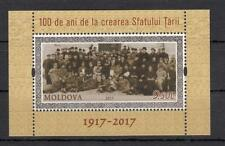 Moldova Moldawien 2017  MNH** Mi.1021 Bl.78 100Y Parliament Besarabi