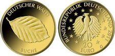 """Deutschland, 20-Euro Goldmünze 2011 """"Deutscher Wald - Buche"""" Prägebuchstabe J"""