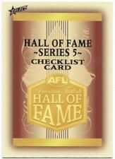 2018 Select Legacy Hall of Fame (HF218) Check List