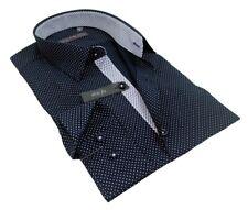 Cravate Slim Enzo di Milano très tendance grise neuve