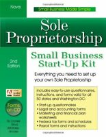 Sole Proprietorship: Small Business Start-Up Kit [With CDROM] by Sitarz, Daniel