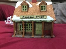 Dept 56 Ne Village's General Store #6530-7 Retired w/bulb&cord-No Box