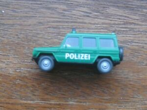 Wiking Mercedes Benz G - Model 230G  4WD Police Car. 1:87 Scale. No Box.