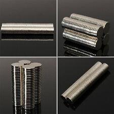 10/50/100Pcs Super Strong Round Disc Magnets Rare-Earth Neodymium Magnet N35/N50