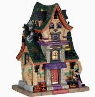 Lemax 2020 Spooky Town WANDA'S WICKED HOME #05613 BNIB Lighted Building