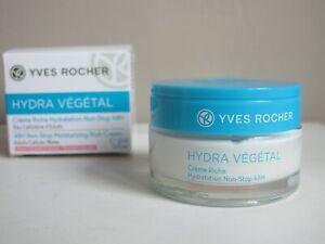 Yves Rocher Hydra Vegetal 48H Non-Stop Moisturising Rich Cream 50ml