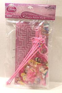 Hallmark Disney Princess Party Favor Pack of 20 Favors Prizes Trinkets Toys NEW