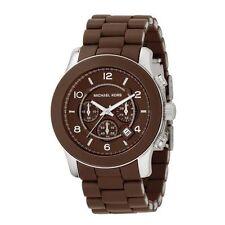 Relojes de pulsera Michael Kors de goma de cronógrafo