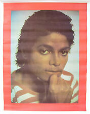 Michael Jackson Poster Affiche Portrait Pose 1984