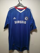 Chelsea Home 2010-2011 Shirt Adidas Blue - Size XL (337)