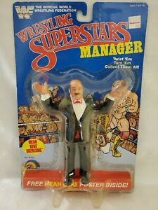 Mean Gene Okerlund LJN Series 3 Wrestling Superstars Manager WWF Figure