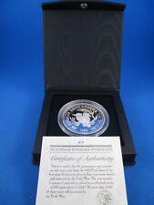 1993 AUSTRALIAN KOOKABURRA PROOF ISSUE $2 2oz SILVER Coin.