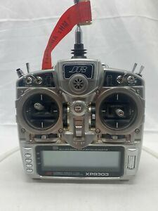 JR XP9303 9-Channel RC Airplane Drone Remote Controller with manual READ AS IS