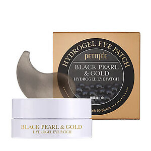 PETITFEE Black Pearl & Gold Hydrogel Eye Patch 1.4g*60pcs