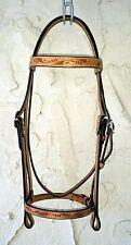 Round Pen Custom Western Dressage Headstall