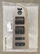 10 - 13 CHEVY SILVERADO GMC SIERRA FRONT DRIVER MASTER WINDOW SWITCH TAN NEW