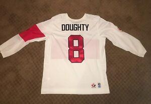 Drew Doughty Replica Nike Olympic Jersey Sochi 2014 Team Canada LA Kings White