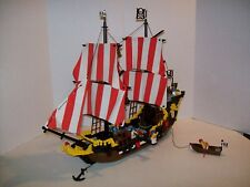 Lego 6285 BLACK SEAS BARRACUDA Pirate Ship 100% w/Instructions & Shooting Cannon