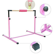 Gymnastic Training Bar Adjustable Horizontal High Bars Junior Kids Home Kip Gym