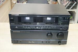 Marantz SD-285 SD285 Double Cassette & PM-55SE Amp