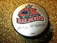 Columbus Blue Jackets 2020 NHL Hockey Puck