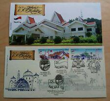2012 Malaysia Melaka 750 Years 2v Stamp FDC (Exhibition Cachet)