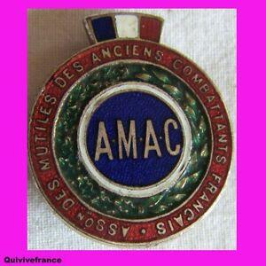 IN1317 AMAC MUTILES & ANCIENS COMBATTANTS FRANCAIS GB