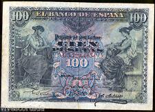 España 100 pesetas 30 Junio 1906 @  Muy Bello @