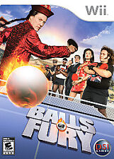 """Balls of Fury BRAND NEW SEALED GAME for Nintendo Wii system - """"E"""" KIDS U SPORTS"""