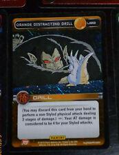 DRAGON BALL Z TCG DBZ PANINI CARD CARDDASS PRISM CARTE U92 ORANGE DISTRACTI FOIL