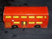 Matchbox superkings  K-15  London bus playworn