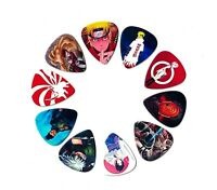 Naruto Guitar Picks (10 medium picks in a packet)[Perfect gift for Naruto fans]