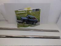 FIAT 850 BERLINA - SPECIAL - MODANATURE SOTTOPORTA DX E SX  CROMATE
