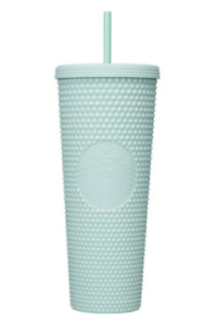Starbucks Korea Mint Studded Tumbler 710ml Cold Cup 2021 Summer Limited Edition