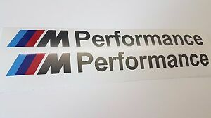 BMW M Performance Stickers Grey 20cm -  M4 420 428 435 F32 F33 F36 4 Series