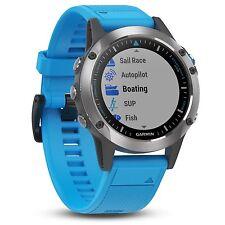 Garmin Quatix 5 Stainless Steel Premium Marine Multisport Watch 010-01688-40