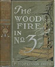 The Wood Fire in No. 3 1905 F Hopkinson Smith / Alonzo Kimball Illustrations