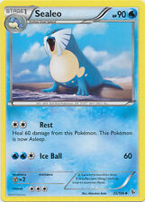 Sealeo Uncommon Pokemon Card XY2 Flashfire 25/106