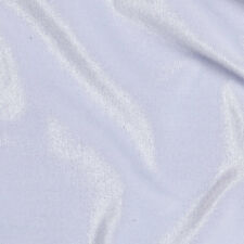 White Stretch VELVET Apparel Dress Costume Fabric - 25 Yard Bolt Roll
