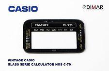 VINTAGE GLASS CASIO C-70 NOS
