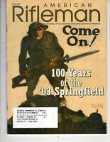 American Rifleman Magazine March 2003 100 Years of Springfield